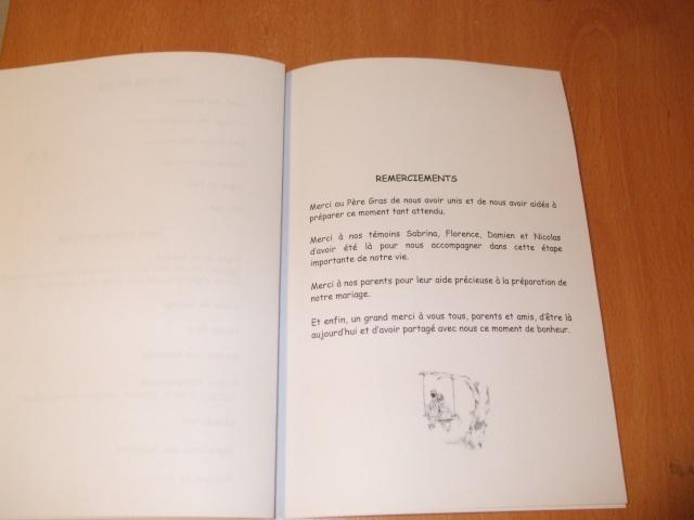 dscf0116 - Exemple Remerciement Livret De Messe Mariage