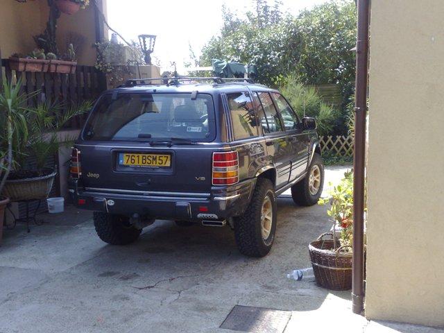R hausse d 39 un zj le mien for Garage jeep luxembourg
