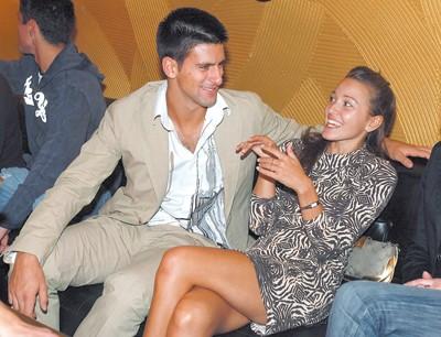 novak djokovic girlfriend. Re: Novak and Jelena - Love Is