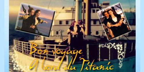 A bord du Titanic