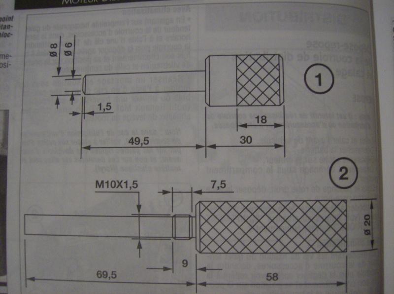 moteur 1 5dci fabrication piges moteur pour courroie distri. Black Bedroom Furniture Sets. Home Design Ideas