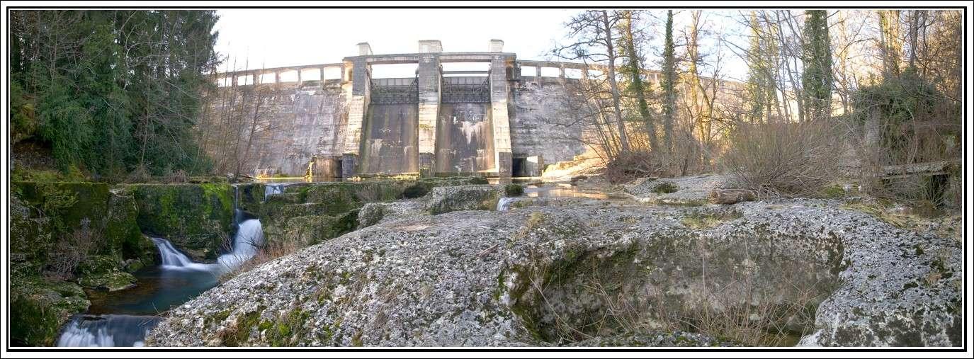 Cascade de Charmine (rivière de l'Oignin) dans Randonnée web112