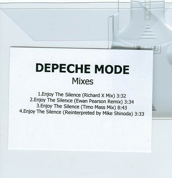 Depeche Mode - Enjoy The Silence 2004