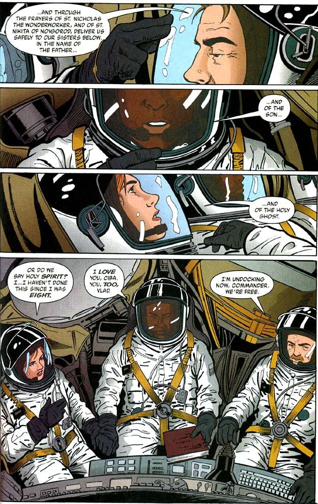 BD Vlad le Cosmonaute, ou l'Orthodoxie qui annonce l'Evangile dans l'espace