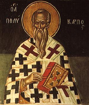 icone orthodoxe de saint Polycarpe de Smyrne
