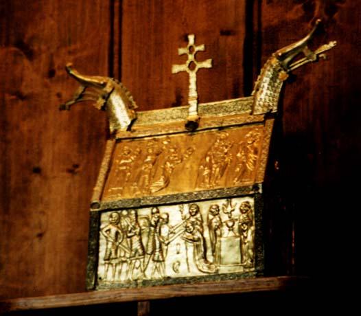 reliquaire medieval norvegien