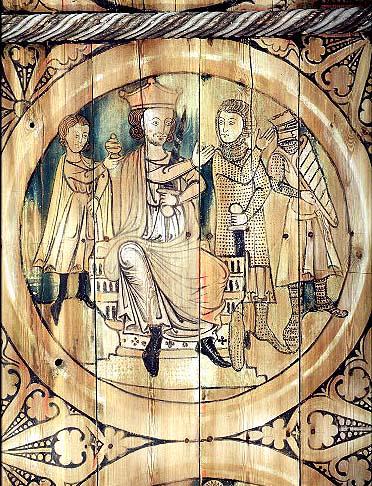 Herode ordonne le massacre des saints Innocents, fresque medievale de Suede