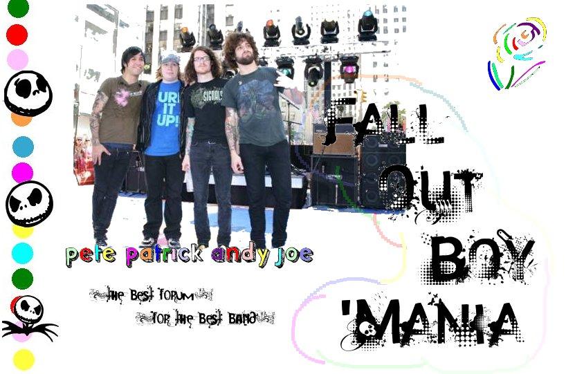 [Fall Out Girl]Fall Out Boy Mania. dans Publicités