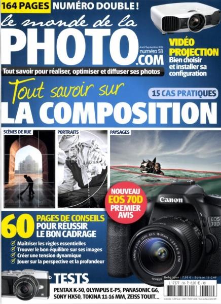 Le Monde de la Photo n°58 : tout savoir sur la composition