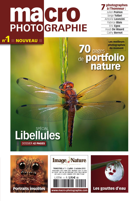 Macro Photographie, nouveau magazine photo