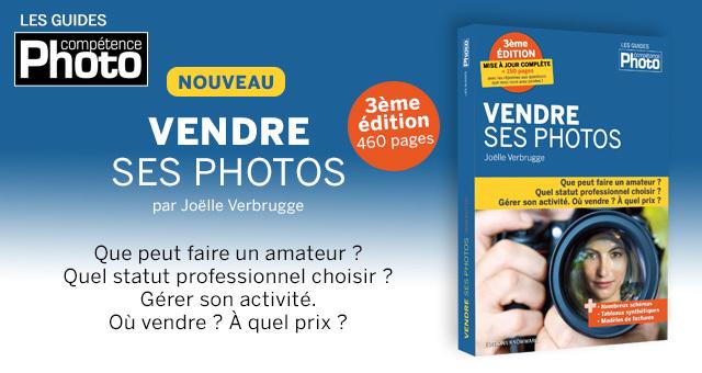 3ème édition pour le livre Vendre ses photos de Joëlle Verbrugge