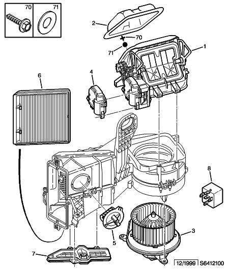 citroen xsara 2 0 hdi an 2001 probl me ventilation chauffage que position 4 r solu. Black Bedroom Furniture Sets. Home Design Ideas