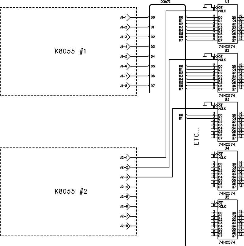 more than 4 k8055  - pc related projects