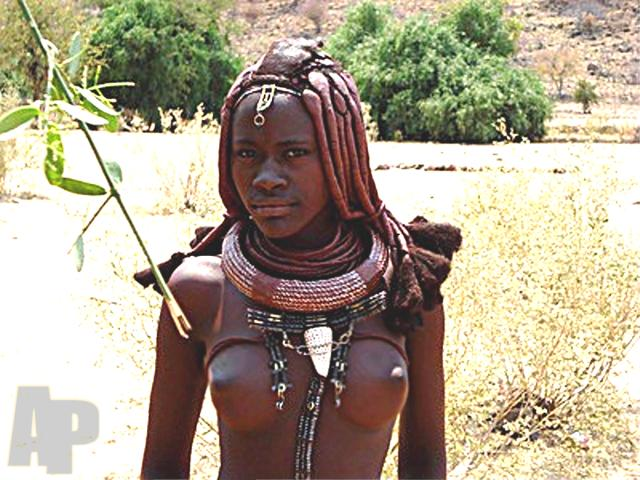 the beautiful african ladies of the african himba tribe