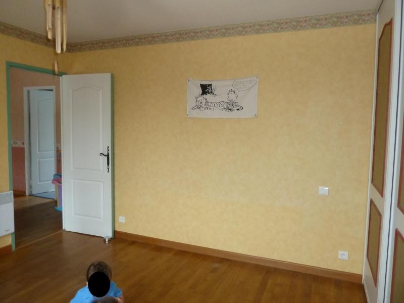 Chambre fille de 4 ans maj huile introuvable - Peindre 2 murs de couleurs differentes ...