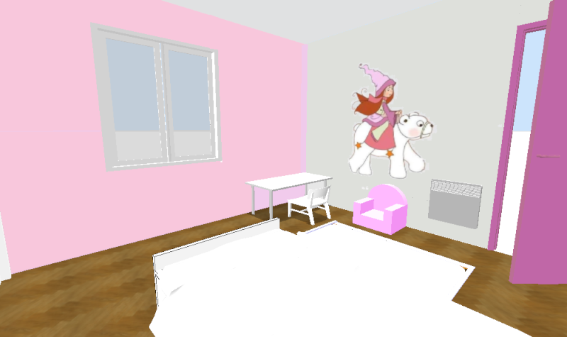 Peinture chambre fille peinture chambre fille hello kitty for Chambre introuvable
