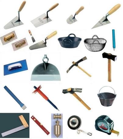Fotos herramientas de alba il - Herramientas de albanil ...