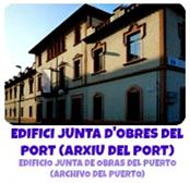 EDIFICI JUNTA OBRES PORT I ARXIU DEL PORT