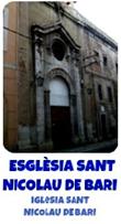 ESGLÈSIA SANT NICOLAU DE BARI