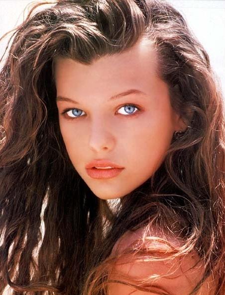 Milla Jovovich Young Model