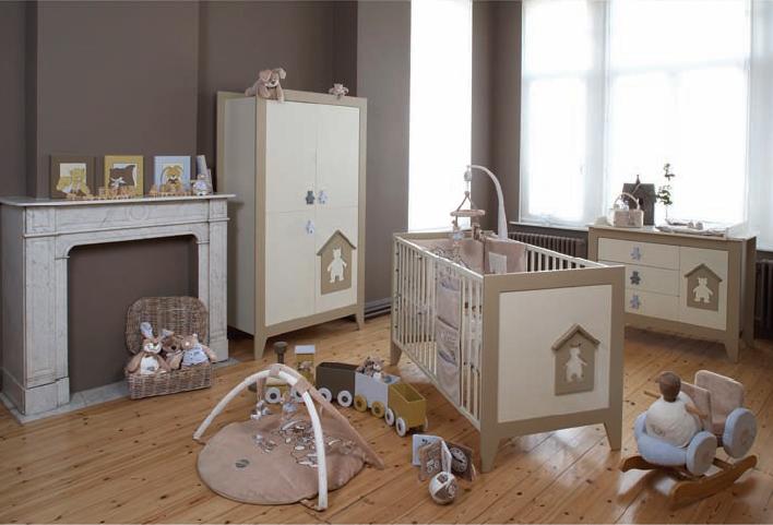 Parquet chambre enfant blanc neige pour la chambre enfant - Chambre bebe unisex ...