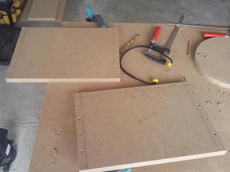 Fabrication d un caisson clos 25l - Fabrication d un garage ...