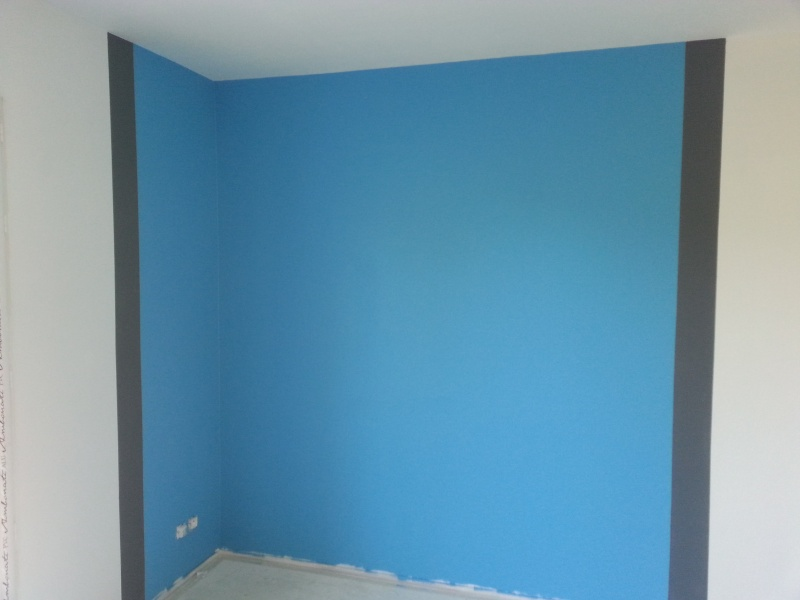 Chambre gar on 5 ans for Chambre couleur bleu et gris