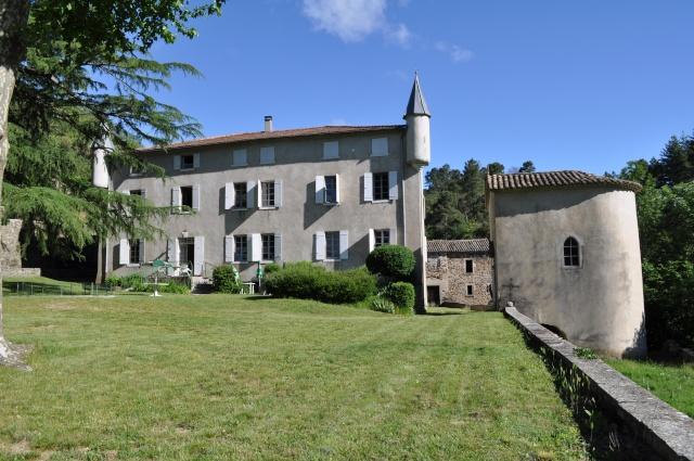 Le château de Rochemure