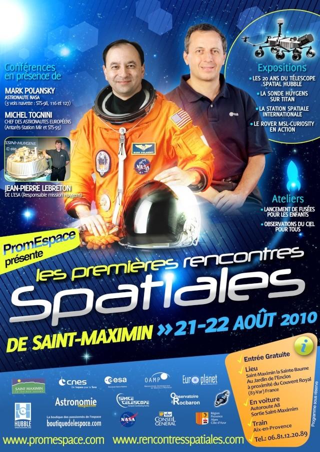 Rencontres spatiales st maximin 2018