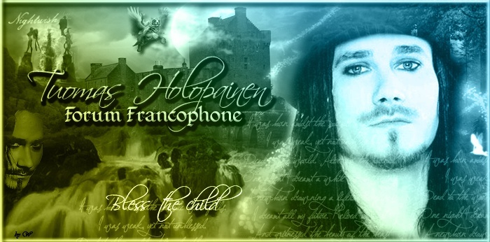 Tuomas Holopainen Forum Francophone