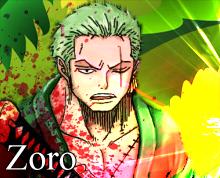 أكبر تقرير عن النجوم الأحد عشر ون بيس Eleven Supervona One Piece zoro10.png