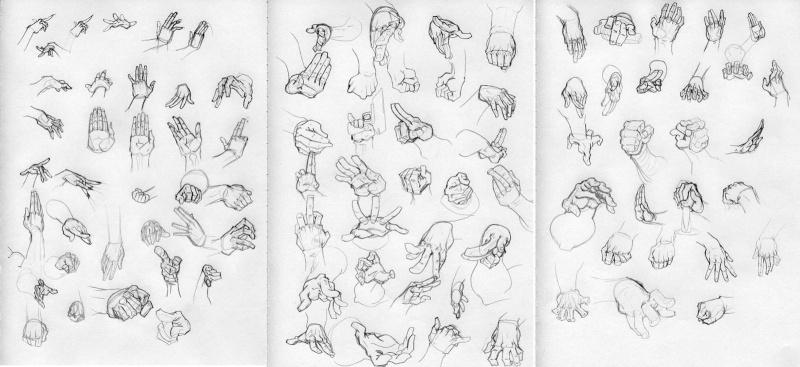 Comment dessiner des mains manga - Dessin de mains ...