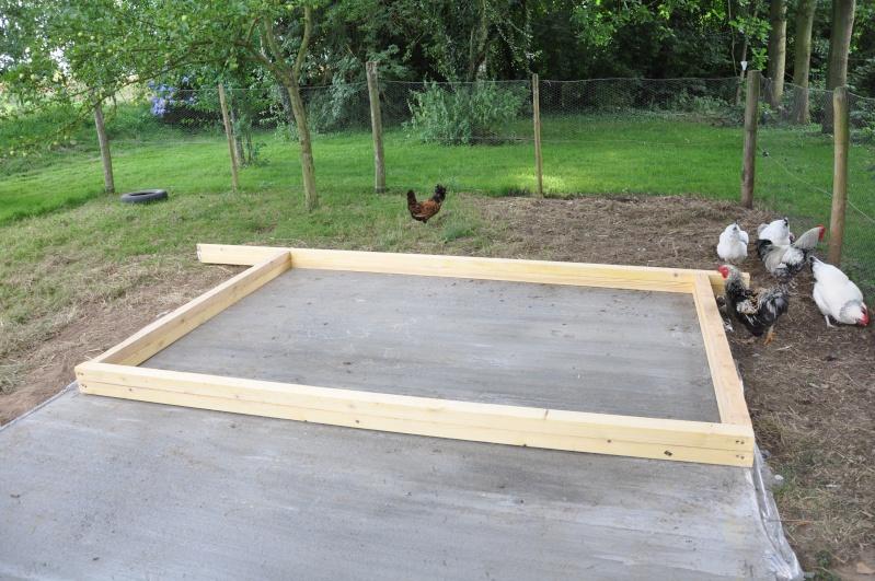 Suivi construction du poulailler - Construire un garage prix ...