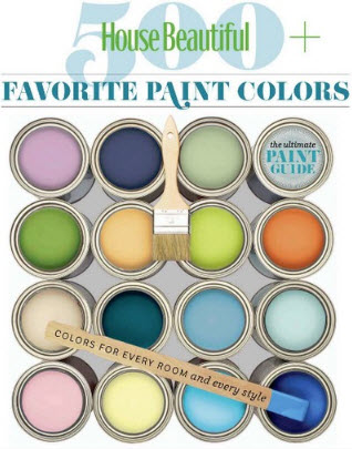 House Beautiful 500+ Favorite Paint Colors - 2010