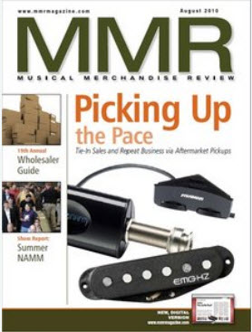Musical Merchandise Review (MMR) - August 2010