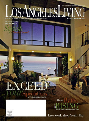 Los Angeles Living Magazine August/September 2010
