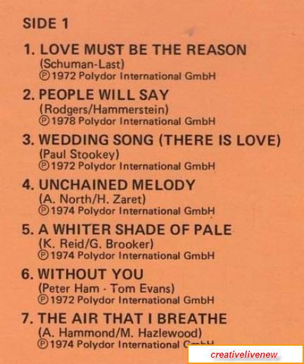James Last - Everlasting Love