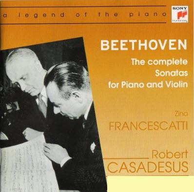 Beethoven: Complete Sonatas For Violin & Piano (Casadesus, Francescatti) (2001)