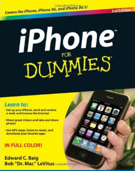 iPhone For Dummies: Includes iPhone 3GS ,3rd Edition