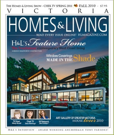 Victoria Homes and Living - Fall 2010