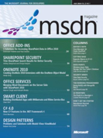 MSDN Magazine - July 2010