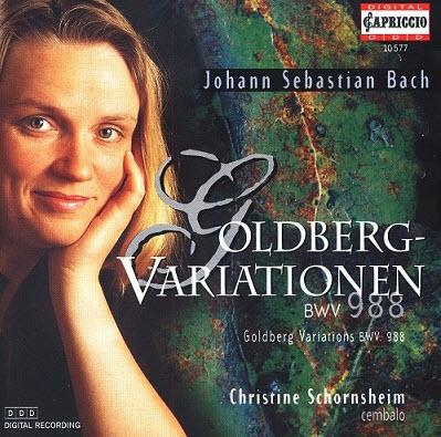 Johann Sebastian Bach - Goldberg Variationen (Christine Schornsheim) (1997