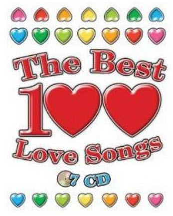 VA - The Best 100 Love Songs 7 dia CD (2008)