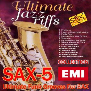 Ultimate Funk Grooves For SAX-5 (2010)
