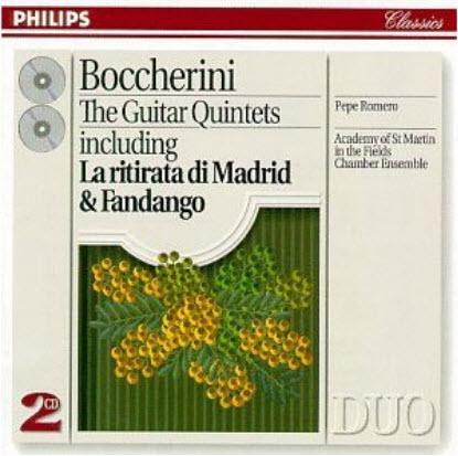Boccherini: The Guitar Quintets - Pepe Romero (1994)