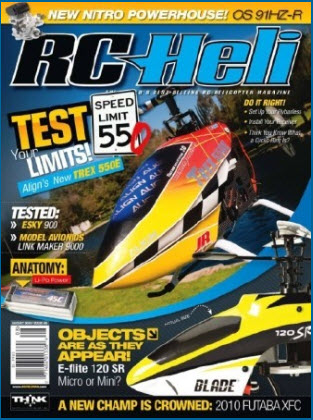 RC Heli magazine - August 2010