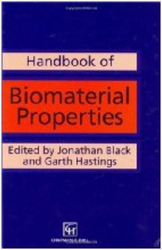 Handbook of Biomaterial Properties by Jonathan Black