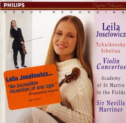 J.Sibelius, P.Tchaikovsky: Violin Concertos - L.Josefowicz (1995)