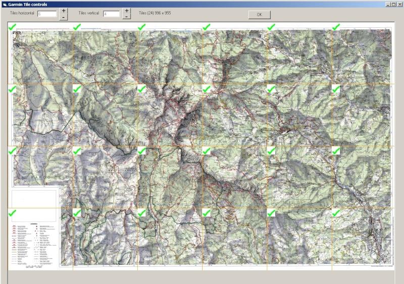 mappe trekking per garmin