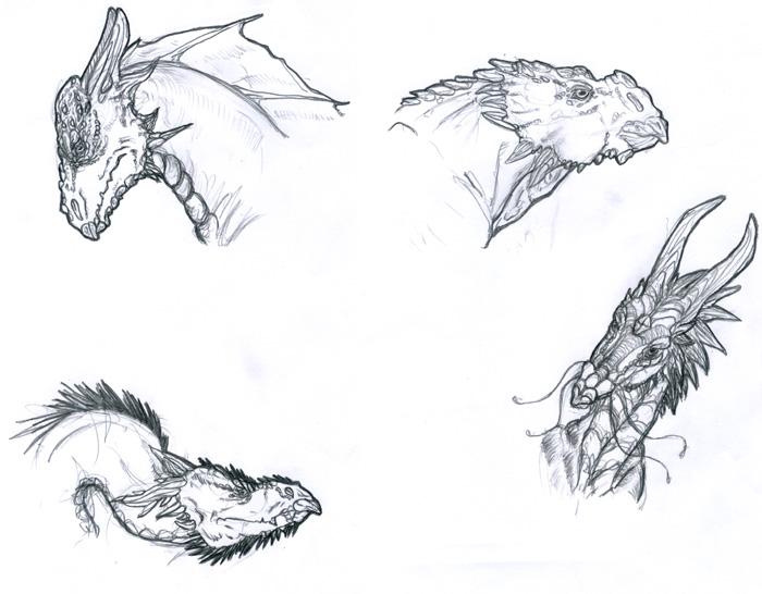 Comment dessiner un dragon 2e tuto - Dessiner dragon ...